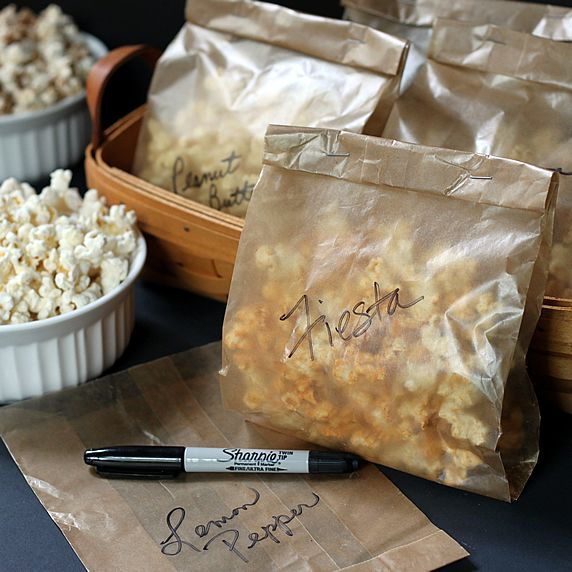 10 Popcorn Flavor Recipes-cocoa lovers, peanut butter, cinnamon toast ...