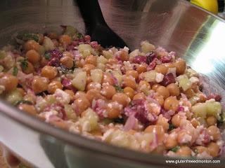 Greek-Style Chickpea Salad | Gluten Free Recipes | Pinterest