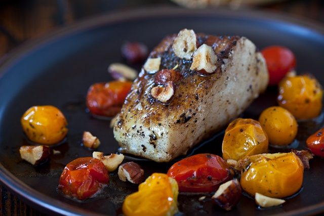 Cod Fish with Hazelnut Browned Butter | Recipe