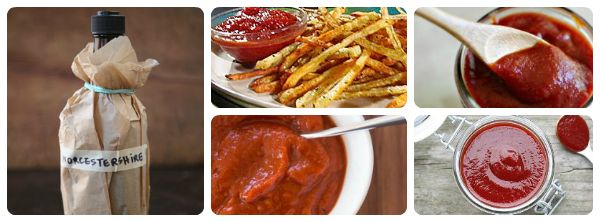 Homemade ketchup, steak sauce, and Worcestershire sauces | FOOD ...