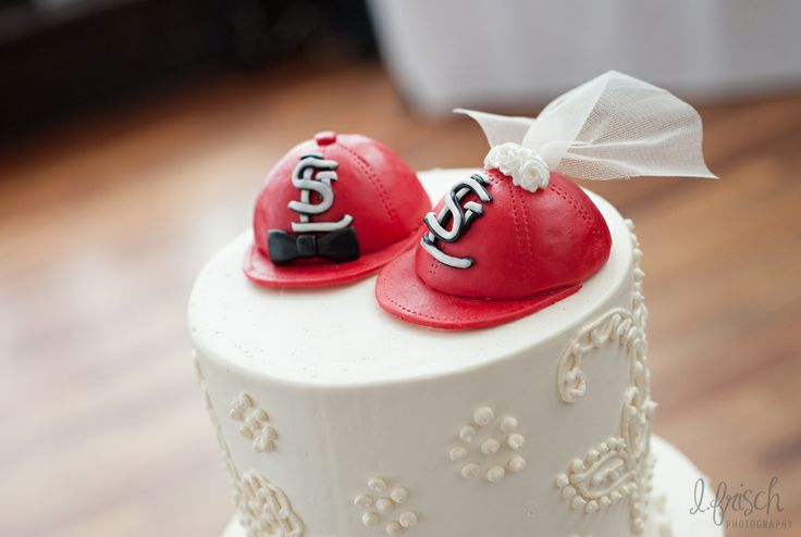 st louis cardinals wedding cake baseball cakes pinterest