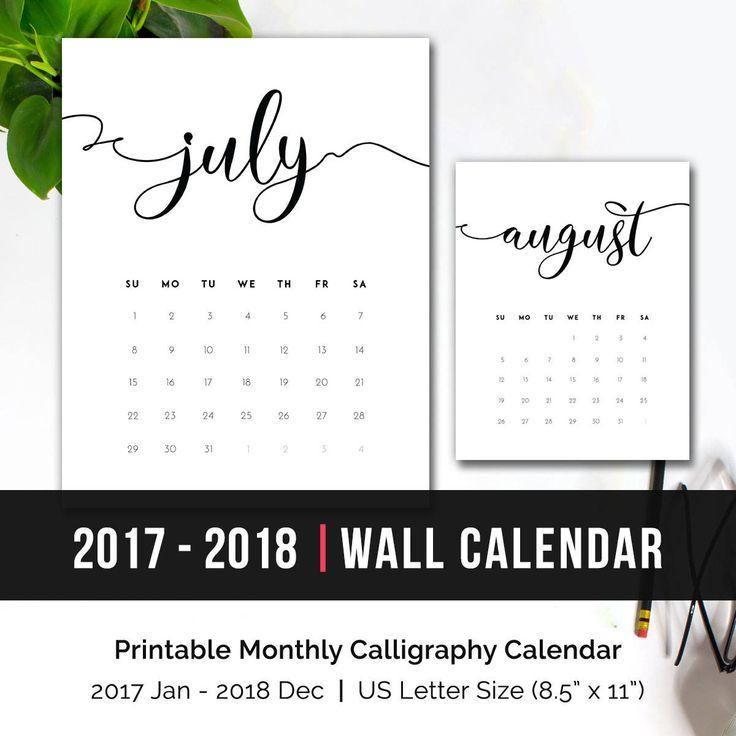 Best 25+ Desk calendar 2017 ideas on Pinterest | Print calendar ...