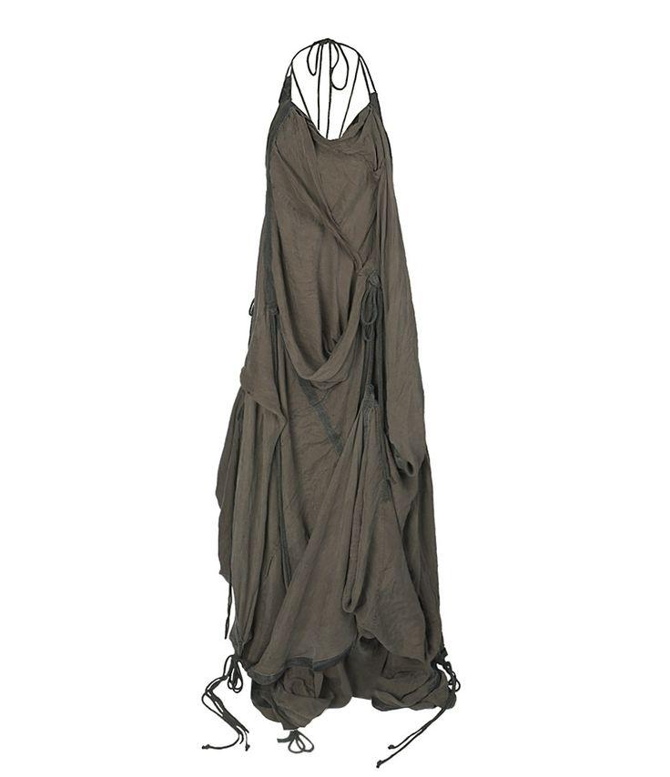 Silk Parachute Long Dress on sale!