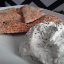 Tzatziki Sauce -Yogurt and Cucumber Dip Just made this as a veggie dip ...