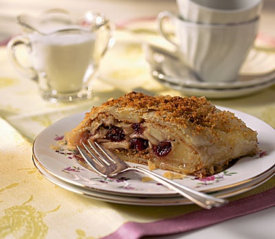 Cranberry Apple Cheese Strudel | Utter Deliciousness! | Pinterest