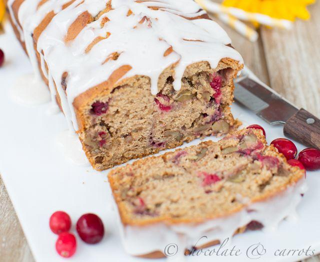 Whole Wheat Cranberry Walnut Bread | I really should | Pinterest