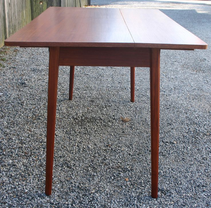 1stdibs Danish Drop Leaf Dining Table