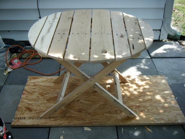 diy build your own patio table | DIY: Build; Outdoor & Furniture | Pi ...