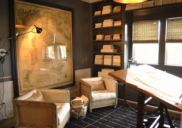 Rustic Study Room Rooms Spaces Pinterest