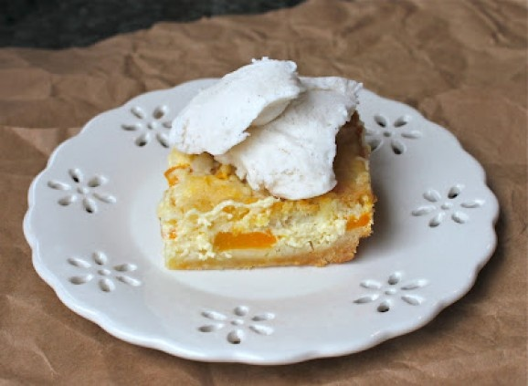 Peach Bars | Sweets | Pinterest