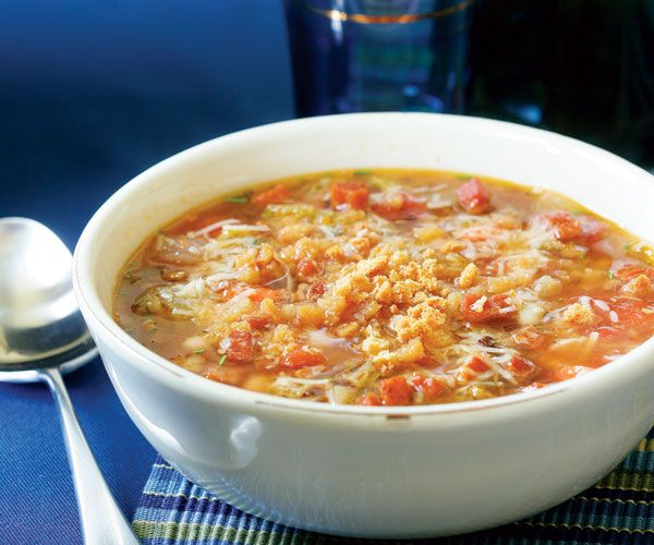 tuscan peasant soup with rosemary amp pancetta recipe