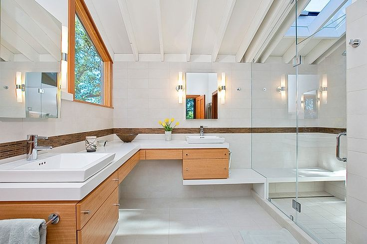 Modern Ranch Style Bathrooms