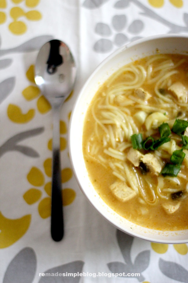 ReMadeSimple: Thai Chicken Noodle Soup | soup | Pinterest