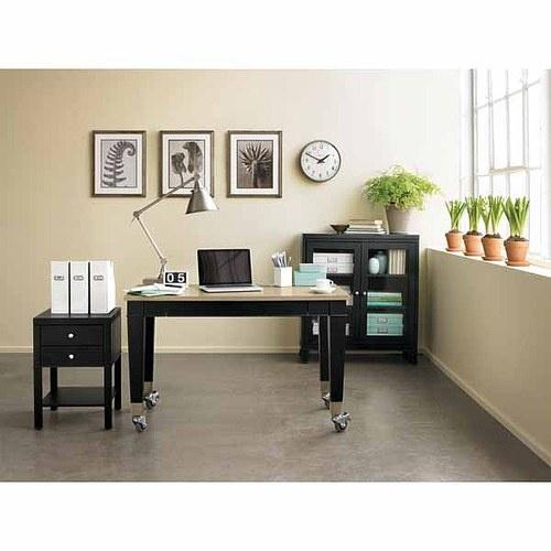 martha stewart home office desk decorating