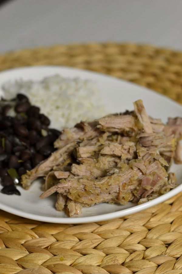 Crockpot Lechon (Cuban Pork)- in the crockpot right NOW! Should be ...