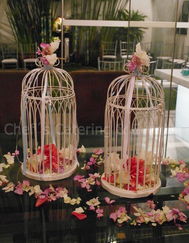 jaulas con flores lindas decoraciones facilisimas para