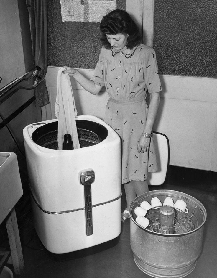 La lavatrice! e la lavastoviglie! Il Vostro '900 Pinterest
