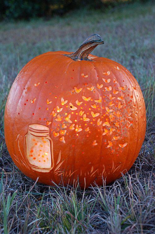 Fireflies pumpkin