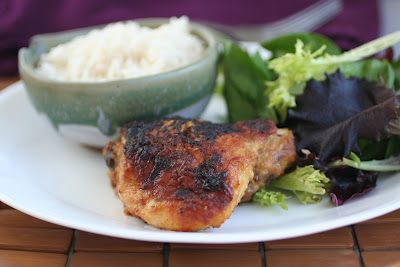 Ginger Maple Glazed Chicken : an awesome sweet sticky chicken.