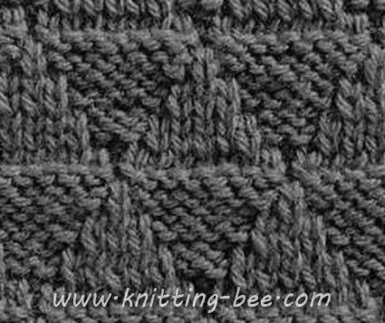 Knitting Stitch Library Knitting Pinterest