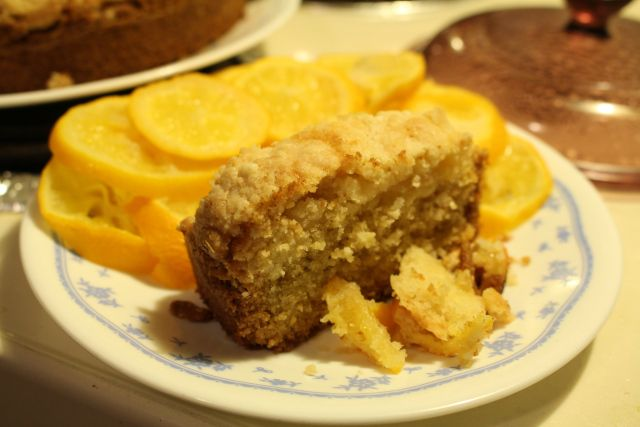 Meyer Lemon Coffee Cake | Cooking/ Baking | Pinterest