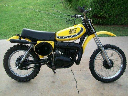 1976 yamaha yz80c vintage dirt pinterest for Yamaha mx 80 for sale
