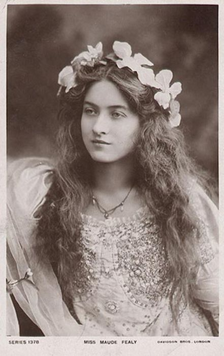 Maude Fealy (1881 - 1971) a star of the Edwardian stage and silent films