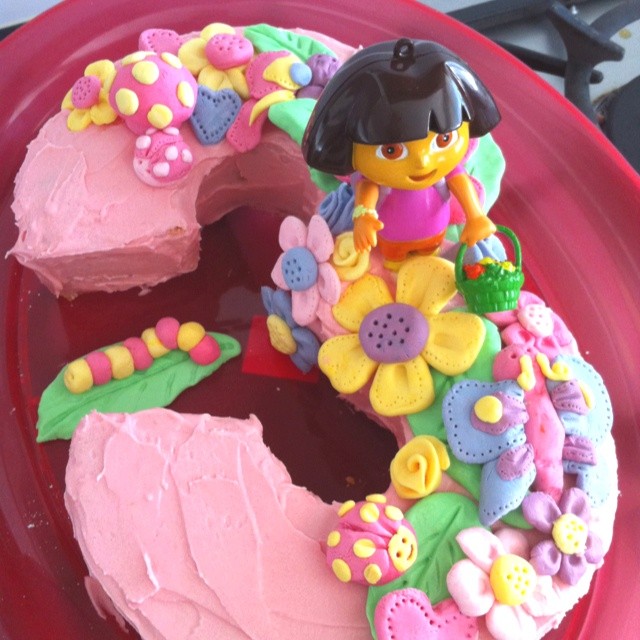 Birthday Cake Images For A Niece : 3rd birthday cake for my beautiful niece parties Pinterest