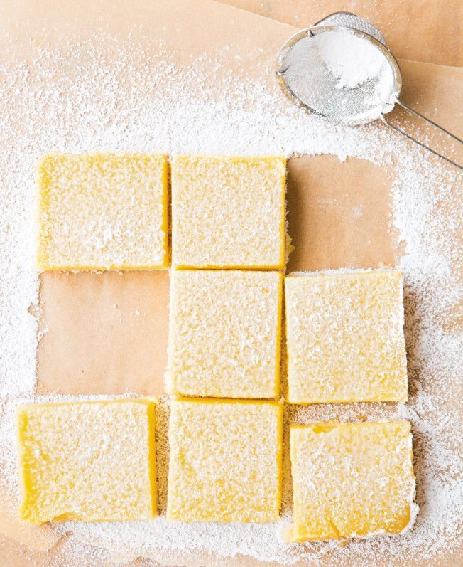 Meyer Lemon Squares | Yummy | Pinterest