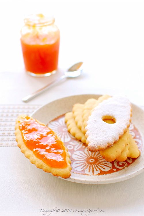 Apricot Jam Sandwich Cookies | Recipes: Sweets | Pinterest