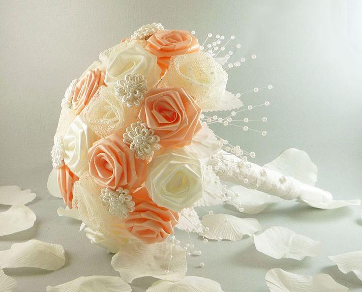 vintage victorian origami wedding bouquet bridal bouquet