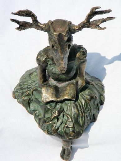 Erika Tenjack. Saw this bronze casting in a show we were both in, if I'd had the money then it would be on my shelf now.