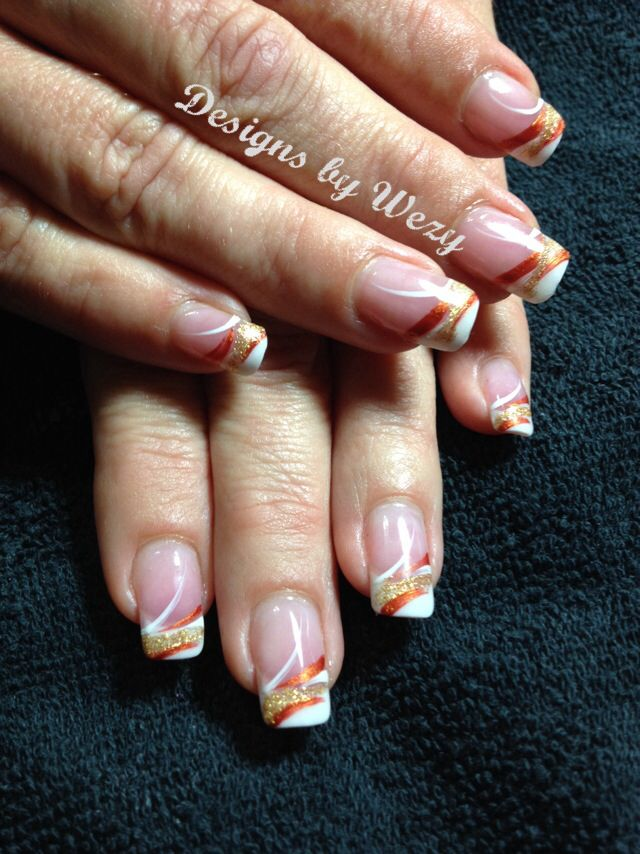 60 Fall Nail Art Trends to Start Wearing Now   Nail nail, Autumn ...