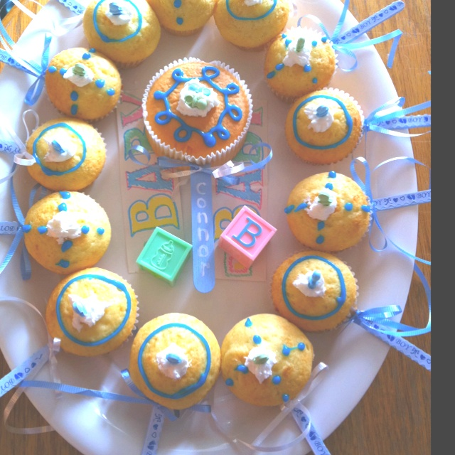 Baby Rattle Cupcakes | recipes | Pinterest