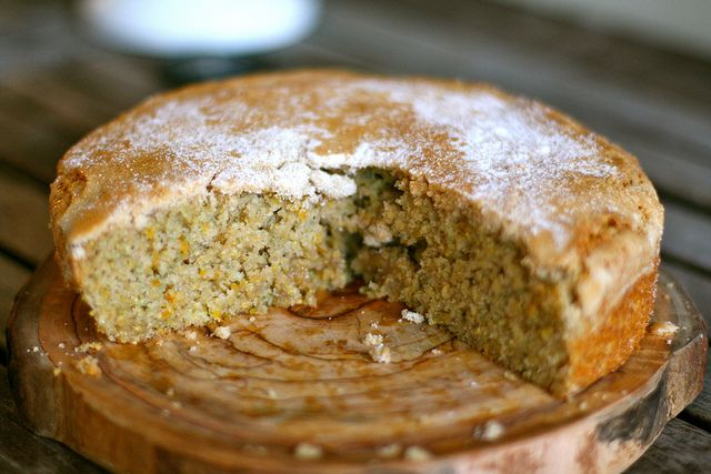 Blood Orange Cornmeal Cake by kristin :: thekitchensink, via Flickr