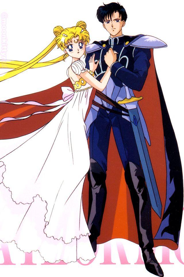 sailor moon and tuxedo mask sailor moon pinterest