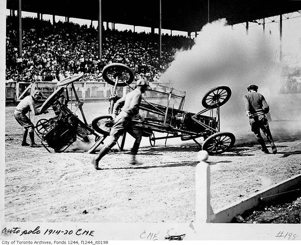 Auto Polo, one of 5 now long-gone acts from the CNE of old