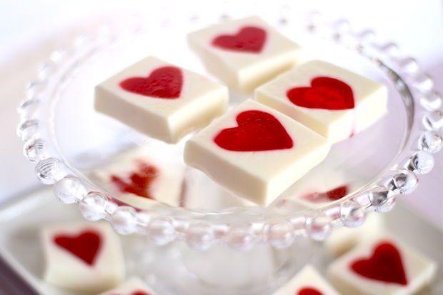 jello hearts valentine's day recipes