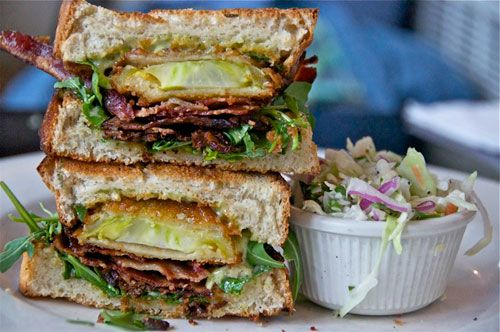 Fried Green Tomato BLT......OMG! | I LOVE TO EAT! | Pinterest