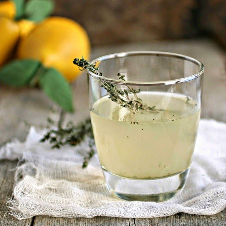 Pear & Thyme Gin Fizz | Cheers! | Pinterest