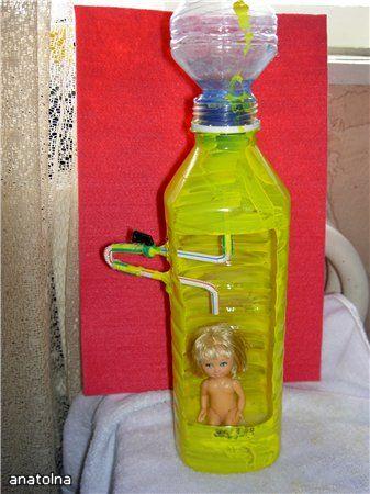 Как сделать душ для кукол