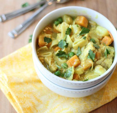 Chicken Stew With Coconut Milk Recipe — Dishmaps
