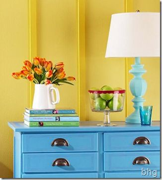 tutorials for re-painting ceramic, metal, wood, or already painted furniture