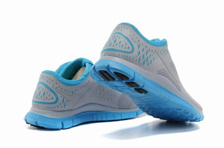 damen nike free 4 0 v2 schuhe grau blau damen nike free. Black Bedroom Furniture Sets. Home Design Ideas