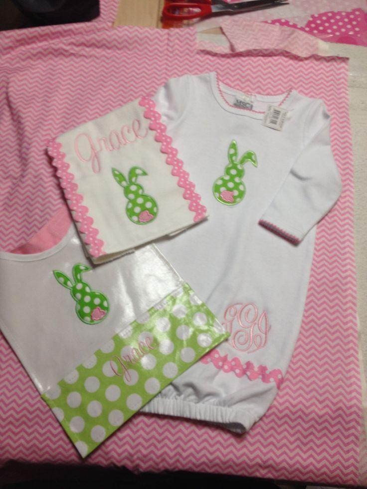 Baby Gift Monogram : Baby gift monogrammed
