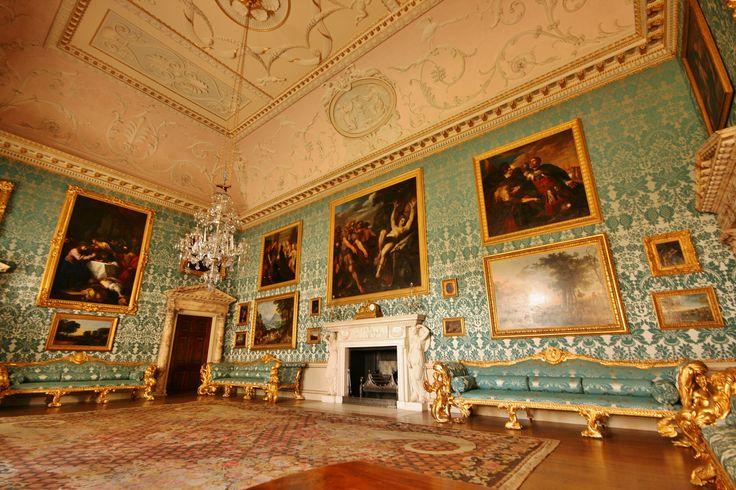 Kedleston Hall Interiors 18th Century Regency Pinterest