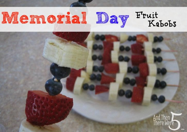 memorial day healthy cookout