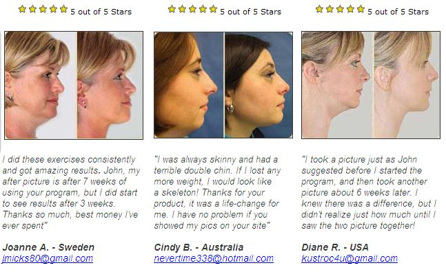Face exercises for chubby cheeks