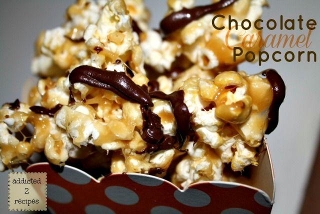 how to prepare caramel popcorn