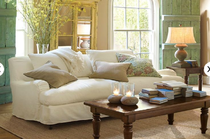 pottery barn living room living room pinterest